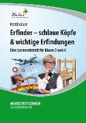 Cover-Bild zu Erfinder - schlaue Köpfe & wichtige Erfindungen (PR) von Jauer, Kerstin