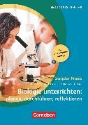 Cover-Bild zu Scriptor Praxis, Biologie unterrichten: planen, durchführen, reflektieren (6. überarbeitete Auflage), Sekundarstufe I und II, Buch von Baisch, Petra