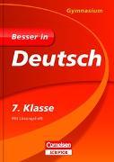 Cover-Bild zu Besser in Deutsch - Gymnasium 7. Klasse von Greving, Johannes