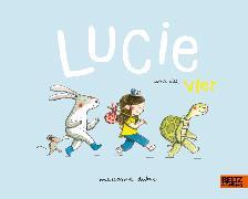 Cover-Bild zu Dubuc, Marianne: Lucie und die Vier
