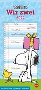 Cover-Bild zu Peanuts Planer Wir zwei Kalender 2022 von Heye (Hrsg.)