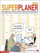 Cover-Bild zu Butschkow: Superplaner Kalender 2022 von Butschkow, Peter
