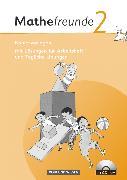 Cover-Bild zu Mathefreunde, Ausgabe Nord/Süd 2010, 2. Schuljahr, Kopiervorlagen mit CD-ROM, Mit Lösungen zum Arbeitsheft und Tägliche Übungen von Fischer, Karin