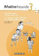 Cover-Bild zu Mathefreunde, Ausgabe Süd 2010 (Sachsen, Thüringen), 3. Schuljahr, Handreichungen für den Unterricht, Mit Lernzielkontrollen, Beobachtungsbögen und Lösungen von Ladel, Silke