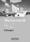 Cover-Bild zu Bigalke/Köhler: Mathematik, Berlin - Ausgabe 2010, Grundkurs 4. Halbjahr, Band ma-4, Lösungen zum Schülerbuch von Bigalke, Anton