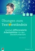 Cover-Bild zu Übungen zum Textverständnis: Klasse 5/6 von Seedorf, Karla