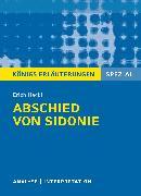 Cover-Bild zu Abschied von Sidonie (eBook) von Hackl, Erich