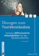 Cover-Bild zu Übungen zum Textverständnis: Klasse 9/10 von Seedorf, Karla