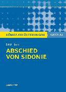 Cover-Bild zu Abschied von Sidonie von Erich Hackl. Königs Erläuterungen Spezial von Hackl, Erich