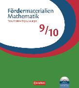 Cover-Bild zu Fördermaterialien Mathematik, Sekundarstufe I, 9./10. Schuljahr, Tests, Kopiervorlagen mit Lösungsblättern und CD-ROM, Im Ordner