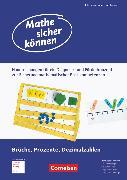 Cover-Bild zu Mathe sicher können, 5.-7. Schuljahr, Förderbausteine Brüche, Prozente und Dezimalzahlen, Handreichungen für ein Diagnose- und Förderkonzept
