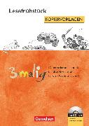 Cover-Bild zu 3-malig, Differenzierungsmaterial auf drei Niveaustufen, Lesefrühstück, 2.-4. Schuljahr, Kopiervorlagen mit CD-ROM von Grübl, Eva