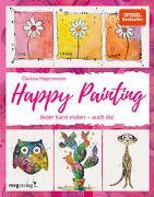 Cover-Bild zu Happy Painting: Das Grundlagenbuch von Hagenmeyer, Clarissa