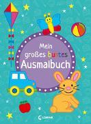 Cover-Bild zu Mein großes buntes Ausmalbuch (Hase) von Loewe Kreativ (Hrsg.)