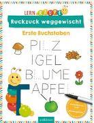 Cover-Bild zu Lernraupe - Ruckzuck weggewischt! Erste Buchstaben von Wiesner, Angela (Illustr.)