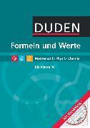 Cover-Bild zu Formeln und Werte, Sekundarstufe I, Mathematik - Physik - Chemie, Formelsammlung bis Klasse 10 mit Geodreieck von Engelmann, Lutz
