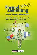 Cover-Bild zu Formelsammlung bis Klasse 10, Mathematik - Informatik - Wirtschaft/Technik - Physik - Astronomie - Chemie - Biologie, Formelsammlung, Kartoniert von Bahro, Uwe