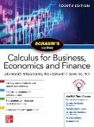 Cover-Bild zu Schaums Outline of Calculus for Business, Economics and Finance, Fourth Edition von Moises Pena-Levano, Luis