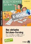 Cover-Bild zu Das einfache Satzbau-Training (eBook) von Rehschuh-Blasse, Ulrike