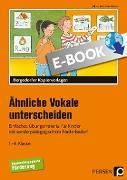 Cover-Bild zu Ähnliche Vokale unterscheiden (eBook) von Rehschuh-Blasse, Ulrike