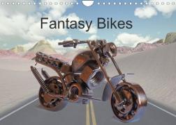 Cover-Bild zu Fantasy Bikes (Wandkalender 2022 DIN A4 quer) von München