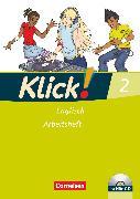 Cover-Bild zu Klick! Englisch, Alle Bundesländer, Band 2: 6. Schuljahr, Arbeitsheft mit Hör-CD von Backhaus, Angela