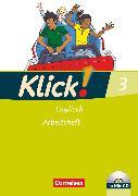 Cover-Bild zu Klick! Englisch, Alle Bundesländer, Band 3: 7. Schuljahr, Arbeitsheft mit Hör-CD von Baumgartner, Susanne