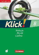 Cover-Bild zu Klick! Biologie, Physik, Chemie, Alle Bundesländer, Band 8, Biologie, Physik, Chemie, Arbeitsheft - Lehrerfassung mit CD-ROM von Geist, Berthold