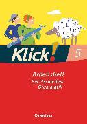Cover-Bild zu Klick! Deutsch, Westliche Bundesländer, 5. Schuljahr, Rechtschreiben und Grammatik, Arbeitsheft mit Lösungen von Bahr, Miriam