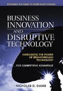 Cover-Bild zu Evans Nicholas D.: Business Innovation and Disruptive Technology (eBook)