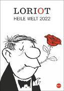 Cover-Bild zu Loriot Heile Welt Halbmonatskalender 2022 von Loriot