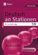 Cover-Bild zu Deutsch an Stationen SPEZIAL Rechtschreibung 7-8 von Röser, Winfried
