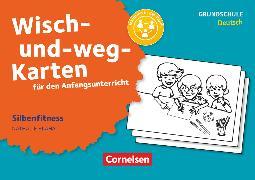 Cover-Bild zu Wisch-und-weg-Karten für den Anfangsunterricht, Deutsch, Silbenfitness, 32 Bildkarten mit Begleitheft von Bláha, Nathalie