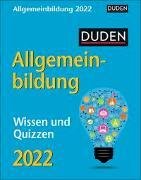 Cover-Bild zu Duden Allgemeinbildung Kalender 2022 von Huhnold, Thomas