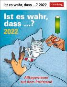 Cover-Bild zu Ist es wahr, dass ...? Kalender 2022 von Stein, Martina