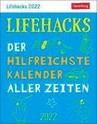 Cover-Bild zu Lifehacks Kalender 2022 von Artel, Ann Christin