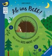 Cover-Bild zu Ab ins Bett! Mein erstes Gute-Nacht-Spielbuch von Clima, Gabriele
