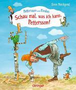 Cover-Bild zu Nordqvist, Sven: Schau mal, was ich kann, Pettersson!
