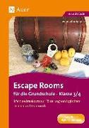 Cover-Bild zu Escape Rooms für die Grundschule - Klasse 3/4 von Knoblauch, Verena
