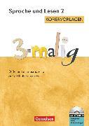 Cover-Bild zu 3-malig, Differenzierungsmaterial auf drei Niveaustufen, Sprache und Lesen, 2. Schuljahr, Kopiervorlagen mit CD-ROM von Maack, Claudia