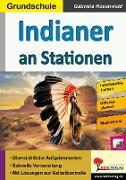 Cover-Bild zu Indianer an Stationen (eBook) von Rosenwald, Gabriela