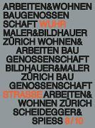 Cover-Bild zu Arbeiten und Wohnen von Baugenossenschaft Maler und Bildhauer Zürich (Hrsg.)
