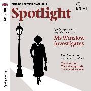 Cover-Bild zu Spotlight Krimi - Ms Winslow investigates (Audio Download) von Schofield, James