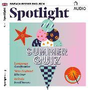 Cover-Bild zu Englisch lernen Audio - Sommerquiz (Audio Download) von Connors, Owen