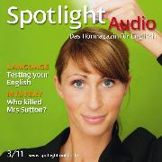 Cover-Bild zu Englisch lernen Audio - Englisch-Test (Audio Download) von Forbes, Rita