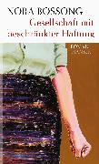 Cover-Bild zu Gesellschaft mit beschränkter Haftung (eBook) von Bossong, Nora