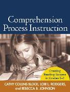 Cover-Bild zu Comprehension Process Instruction: Creating Reading Success in Grades K-3 von Block, Cathy Collins