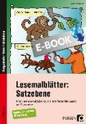Cover-Bild zu Lesemalblätter: Satzebene (eBook) von Kirschbaum, Klara
