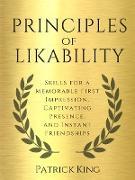 Cover-Bild zu Principles of Likability (eBook) von King, Patrick