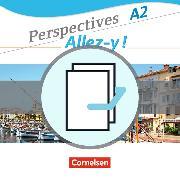 Cover-Bild zu Perspectives - Allez-y! A2. Kurs- und Übungsbuch Französisch. Paket von Delacroix, Anne